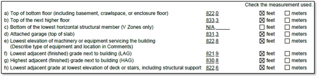 Lowest Floor Elevation Fema Form : Elevation certificates briefly explained from a surveyor